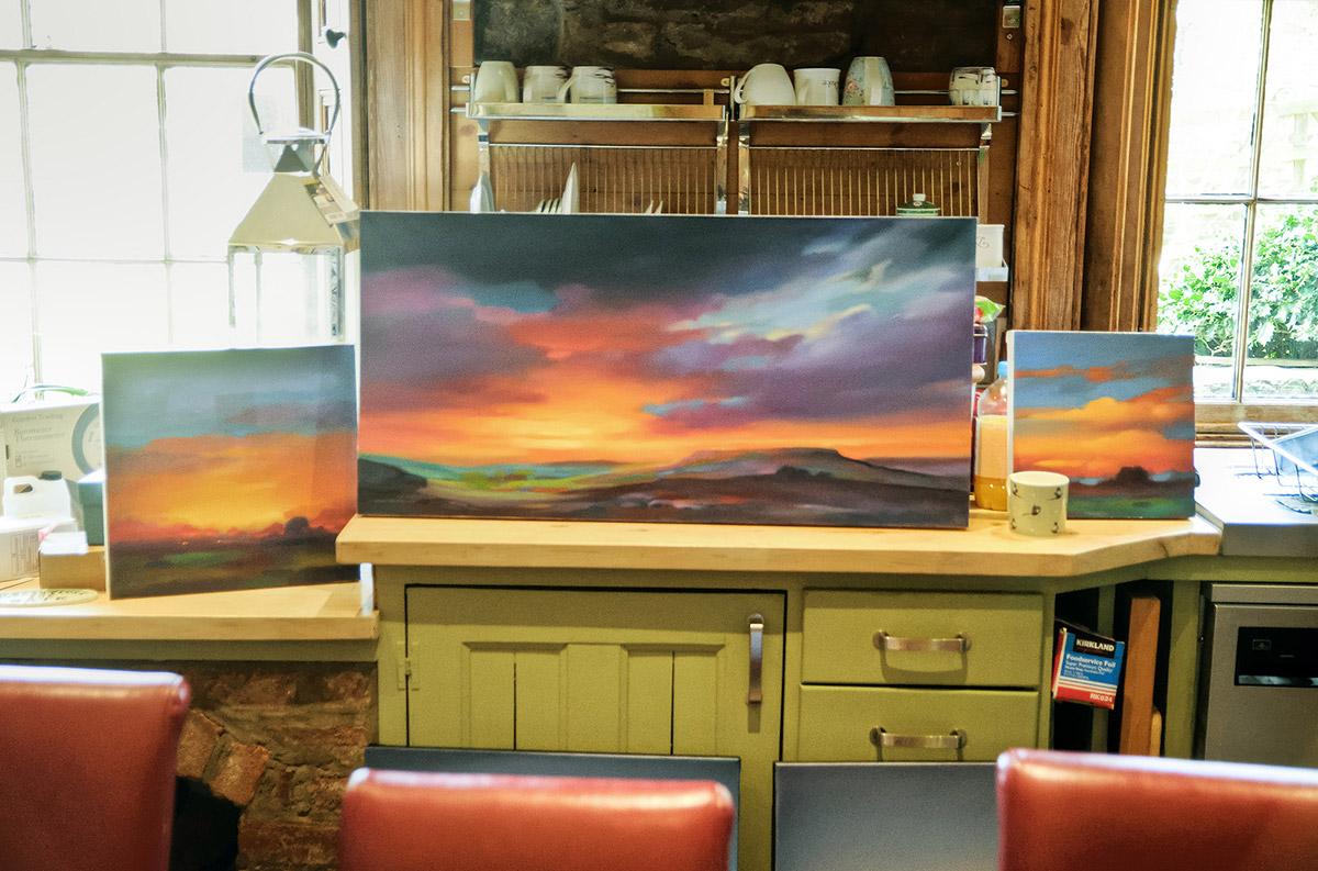 Chris Pepper paintings