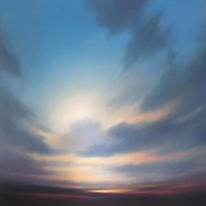 Chris Pepper Sky painting 1